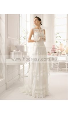 sku:gdcf1001; Silhouette:A-line; Fabric:Tulle; Back Details:Yarn; Neckline:Scoop; Waist:Empire; Colour:Ivory; Sleeve Length:Sleeveless;