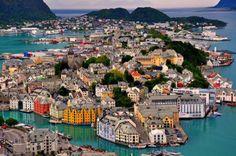 Alesund, Norveç