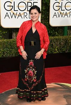 Diana on the GG red carpet 2016
