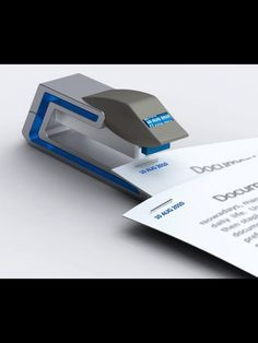 Stapler and you can add the date to your paper