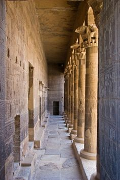 The Temple of Isis, Aswan, Egypt. By Michael J. Kelly.