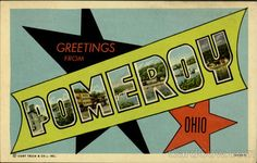 Greetings From Pomeroy Ohio Large Letter