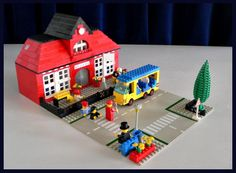 Lego school house