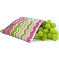 Itzy Ritzy Snack Happens Reusable Snack & Everything Bag, SWB8054 (Little Miss Zig Zag)