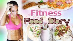 Food Diary mit Tipps zum Abnehmen & Muskeln aufbauen - Full day of eatin...