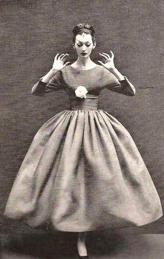 Balenciaga Balloon Dress, 1955