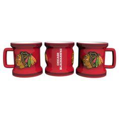 Chicago Blackhawks Shot Glass - Sculpted Mini Mug