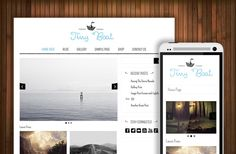 TinyBoat - Art & Craft WP Theme by Theme Bullet on Creative Market