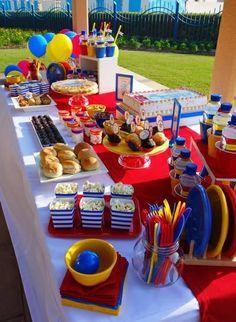 Tom & Jerry themed Birthday Table by Wunderkind Celebrations {www.wunderkind.ae}