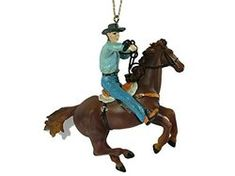 Western Christmas tree decorations, cowboy, cowgirl and rodeo event ornaments. Ideas for a western themed Christmas. Western Christmas Tree, Horse Christmas Ornament, Cowboy Christmas, Christmas Tree Decorations, Holiday Decor, Rodeo Events, Cowgirl And Horse, Westerns
