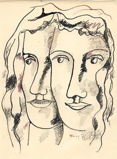 I actually know this lady. (art by: Fernand Léger)