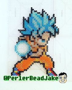Dragon Ball perler beads by perlerbeadjake - Visit now for 3D Dragon Ball Z compression shirts now on sale! #dragonball #dbz #dragonballsuper