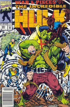 Incredible Hulk # 391 by Dale Keown & Mark Farmer