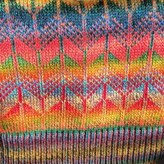The sun is streaming through the studio window making the  colours of our #fairisle  #knitting really shine. Buy our Logo Fairisle #hats and #handwarmers at @handmadebritain #Chelsea16 this week!  #knitted #knitwear #fashion #accessories #madeinlondon #madeingb #handmade #wool #textiles #colour #giftideas #christmas #xmasshopping #ooak #winterfashion #london