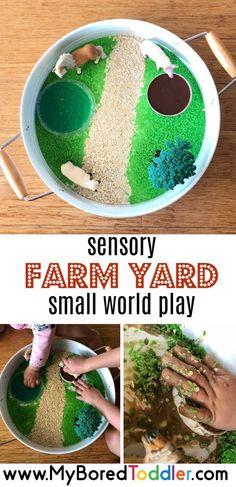 How to Set Up a Sensory Farm Yard Small World