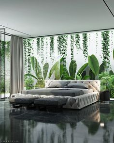 BEDROOM DESIGN IDEAS - Find your favorite bedroom photos here. Browse through images of inspiring bedroom design ideas to create your perfect home. Home Bedroom, Modern Bedroom, Bedroom Decor, Design Bedroom, Bedroom Ideas, Bedroom Styles, Nature Bedroom, Master Bedroom, Bedroom Green