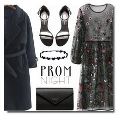 """""""Prom dress"""" by soks ❤ liked on Polyvore featuring Stuart Weitzman, Balenciaga, Prom and polyvoreeditorial"""