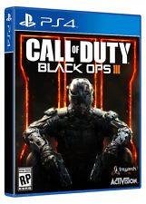 Call of Duty Black Ops 3 III PS4 Game BRAND NEW SEALED Price: USD 40.5   United States