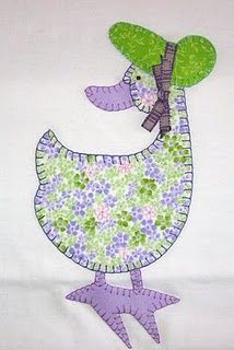 New sewing crafts animals baby quilts ideas Applique Templates, Applique Patterns, Applique Quilts, Applique Designs, Patchwork Quilting, Embroidery Applique, Quilting Designs, Quilt Patterns, Machine Embroidery