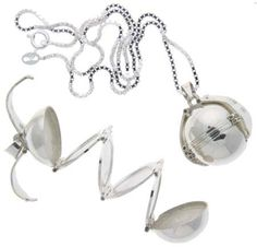 """Amazon.com: Sterling Silver 9/16"""" (18 mm) Photo Ball, Locket Pendant For Six Pictures: Jewelry"""