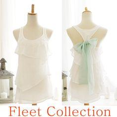 SEASIDE AURA  Sleeveless Snow White Blouse w by FleetCollection, $42.00