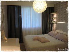 Sisustuskohteeni - makuuhuone ennen ja jälkeen - Suvisvilla - CASA Blogit