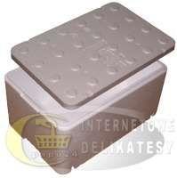 Dwudziestkapiatka  250 opakowania styropianowe Termobox/ Fischbox   600x400x275