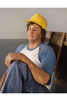 Duane Hanson, Lunch Break,1989, Polyvinyl, polychromed with oil, mixed media, with accessories, Detail 4 of 4 © The Estate of Duane Hanson, Courtesy the Estate of Duane Hanson and Gagosian Gallery