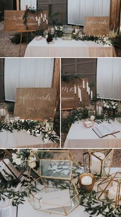 Channel your coolest retro vibes with any wedding style with these 6 swoon-worthy mid-century modern wedding decor ideas! Channel your coolest retro vibes with any wedding style with these 6 swoon-worthy mid-century modern wedding decor ideas! Wedding Welcome Table, Gift Table Wedding, Rustic Wedding Centerpieces, Wedding Table Decorations, Wedding Cards, Wedding Desert Table, Wedding Guestbook Table, Wedding Rustic, Boho Wedding
