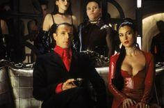Still of Monica Bellucci and Lambert Wilson in The Matrix Revolutions