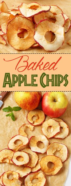 Baked Apple Chips – Healthy Diet – Healthy Diet Project