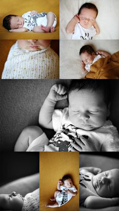 Sweet and simple newborn. No uncomfortable poses.