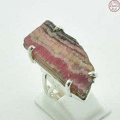 925 #SterlingSilver #Natural #Rhodochrosite New #Ring #Jewellery US S 8  send your query at sales@akratijewelsinc.com  #onlineshop #buy #jewellerylove #shoponline #fashion #beautiful #jewelrysale #jewelrygram