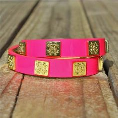 ISO! Hot pink double Meagan! Don't Buy! In search of! Rustic Cuff Jewelry Bracelets