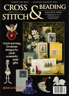 Cross Stitch Tree, Cross Stitch Books, Christmas Cross, Simple Christmas, Cross Stitch Designs, Cross Stitch Patterns, Cross Stitch Magazines, Beaded Cross, Pattern Books