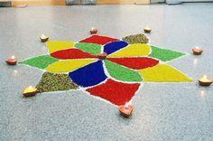 Creative Rangoli Designs For Diwali Decoration: Simple Rangoli Designs…