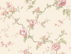 Branch Trail Wallpaper by York Wallpaper. Take an additional off all wallpaper and fabric! Chinese Wallpaper, Paper Wallpaper, Wallpaper Ideas, Wallpaper Patterns, Wallpaper Stores, Wallpaper Online, Discount Wallpaper, White Branches, Shabby Chic