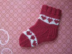 Valentine Sock Pattern