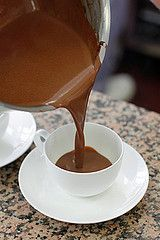 Jacques Genin's chocolat chaud by David Lebovitz, via Flickr