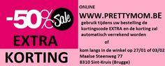 Pretty Mom Outlet Zwangerschapskleding -- Sint-Kruis (Brugge) -- 23/01-03/02