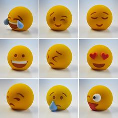 Tired of texting your beloved ones Emojis is there to show your frustration/anger fun, smile everything in just one click and it's been very popular among youngsters most of the media like Facebook, Viber, Watsapp has this feature to engage among users.  http://www.3dprintersonlinestore.com/3d-printing-enables-emojis-in-real-world