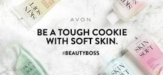 Be a tough cookie with soft skin. Avon Skin So Soft has you covered in keeping your skin silky smooth! #AvonRep