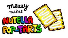 How to make Homemade NUTELLA POP-TARTS -- Simple Recipes With MAZZY (EP 16)