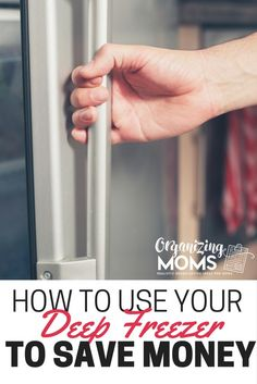 Your deep freezer can be a great money-saving tool. How to use your deep freezer to save money. Loads of helpful tips and ideas to help you lower your food budget by using your freezer.