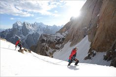 Mammut Peak Project - David Lama on Trango Tower by mammutphoto, via Flickr