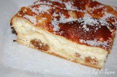 Placinta cu branza de vaci si stafide/Cheese and raisins cake My Favorite Food, Favorite Recipes, Raisin Cake, Romanian Food, Pastry And Bakery, Sweet Memories, Dessert Recipes, Desserts, Sweet Bread