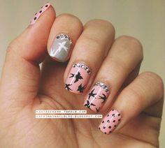 Katrina's Nail Blog: Birds / Swallows / Mui Mui Print Mani;