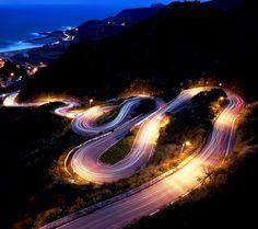 Road night