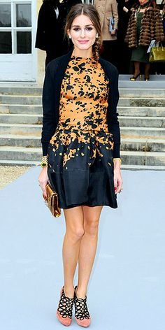 OLIVIA PALERMO  Following her visit to London Fashion Week, the former reality star hits the catwalk circuit in Paris, this time for the Dior show.