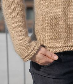 nutmeg top down pull... quick knit for the coming fall... free  pattern